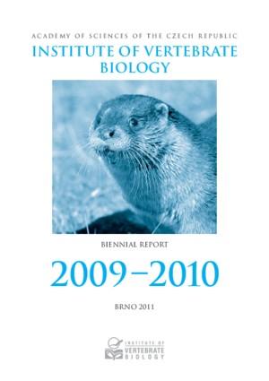 Biennial Report 2009 – 2010